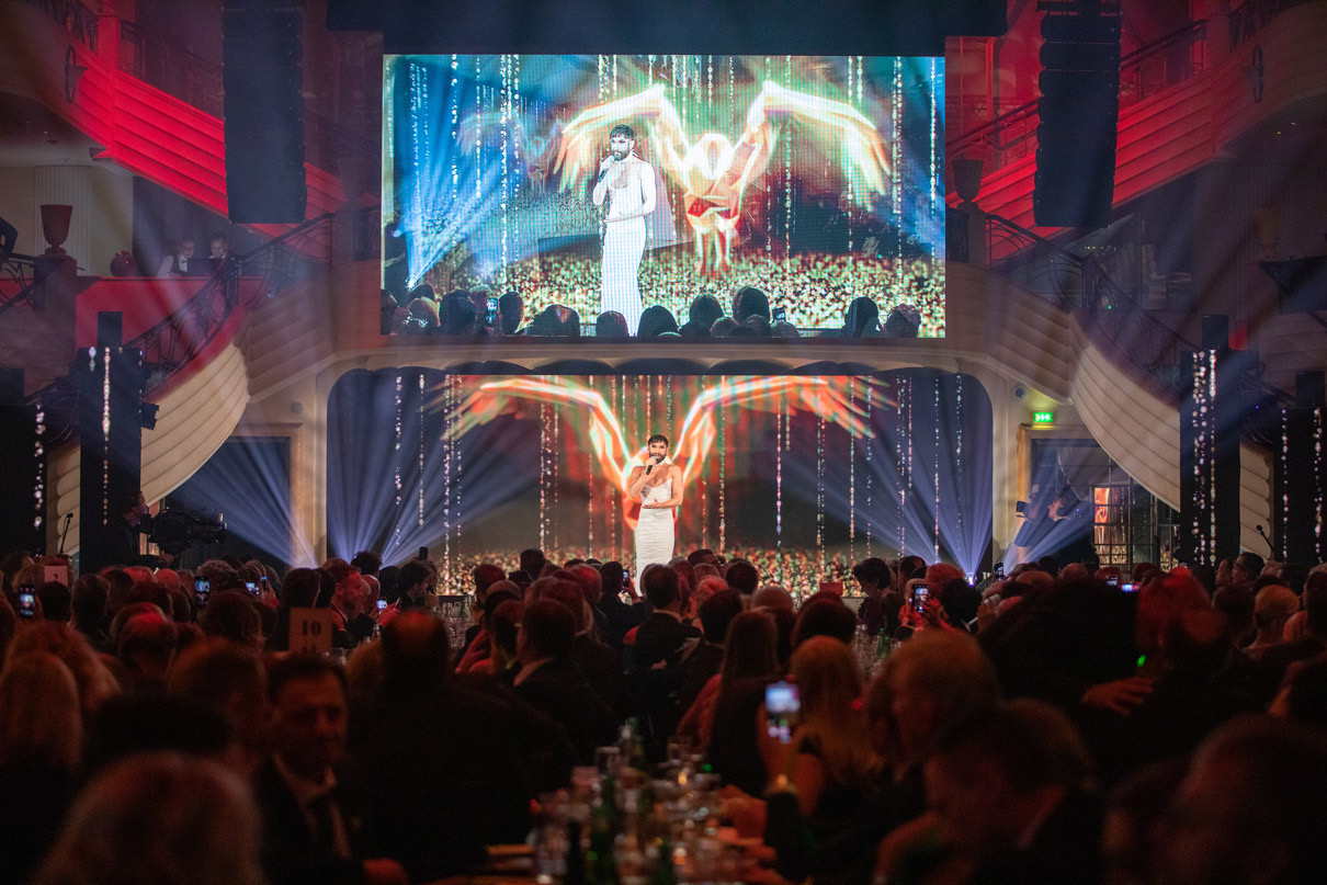 McDonald's Benefiz Gala 2019 Conchita Wurst SCHNEEWEISS